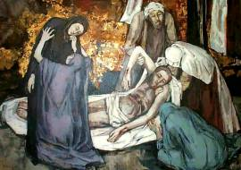 holy saturday - dead Christ